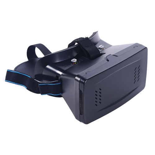 Portable Head-Mounted Google Cardboard Version 3D VR Glasses Virtual Reality DIY 3D VR Video with Magnetic Switch Movie Game 3D Glasses with CSY-01 Mini Multifunctional Wireless Bluetooth V3.0 Selfie Camera Shutter Gamepad for iPhone Samsung / All 3.5 ~