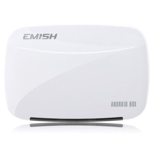 EMISH X700 Android 4.4 Full HD 1080P TV Box Rockchip 3128 Quad-Core 1G / 8G XBMC DLNA Wi-Fi Smart Media Player with Remote Controller от Tomtop.com INT