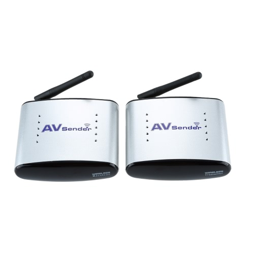 Buy 150M PAT-330 2.4G Wireless AV Audio & Video Sender Transmitter Receiver System DVD / DVR IPTV CCTV Camera TV