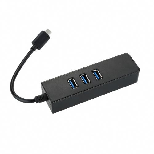 Buy Hot Selling USB 3.1 Type-C 3-Port 3.0 Hub 100 /1000 Gigabit Ethernet HUB [3 * Port + 1 RJ45] Converter Adapter 2 Multifunction PC Laptop Ultrabook Notebook Tablet Macbook Ports