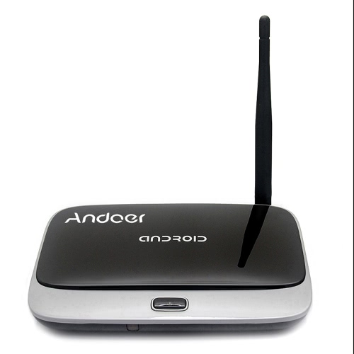 Kodi Andoer CS918 Android 4.4 TV Box Rockchip RK3188T Quad Core Cortex A9  WiFi OTG Bluetooth 4.0 -2G / 32G US Plug от Tomtop.com INT