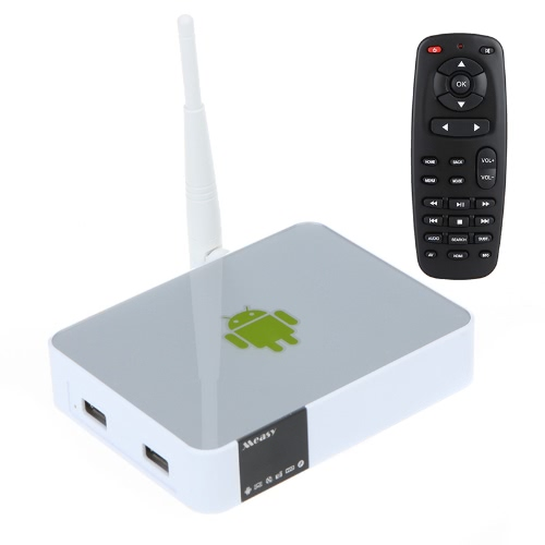 Buy Measy A5A Android 4.0 TV Box Multi-media Player Mini PC AllWinner A10 1G+4GB 1080P HD AV Ethernet WiFi