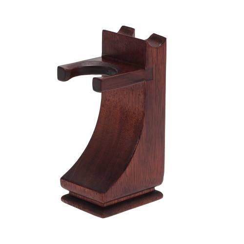 Buy Shaving Holder Stand Razor Brush Solid Wood Tool Organizer