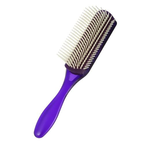 1Pc Hair Comb 9 Row Airbag Brush Anti-static Hairbrush Nylon Pins Scalp Massage Dentangling Brush Random Colors Men Hairdressing Comb