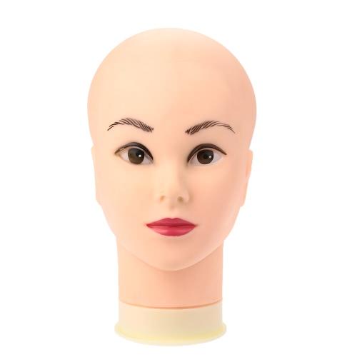 Female Mannequin Head Model Wig Hat Jewelry Display Cosmetology Salon Manikin Head
