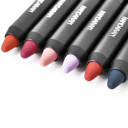 Buy Fashion Lipstick Sexy Long Lasting Makeup Lip Tint Waterproof Pigment Velvet Brown Colorful Nude Matte Lipsticks Pencil