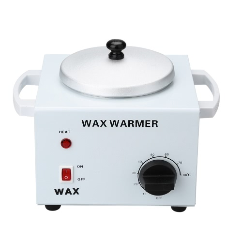 110V 220W Double Pot Wax Machine Waxing Warmer Salon Hot Paraffin Electric Wax Heater for Spa Hair Removal Instrument US Plug