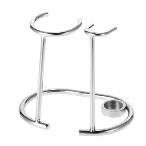 Shaving Holder Stand for Shaving Razor Brush Bowl Stainless Steel Shaving Tool Organizer