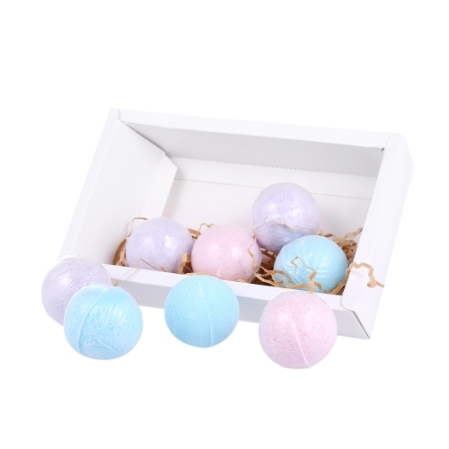8pcs Organic Bath Bombs Fizzer Salts Ball,limited offer $10.49