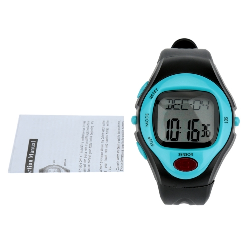 Pulse Watch Heart Rate Monitor Calorie Counter Men Women Sports Watch 30M Water-resistant от Tomtop.com INT