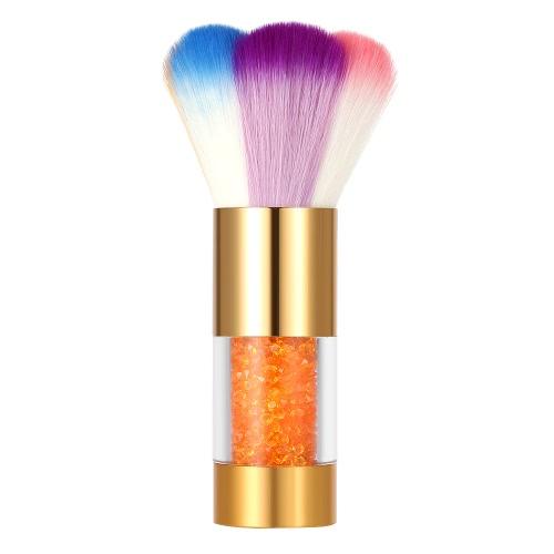 Buy Nail Art Dust Remover Brush Cleaner Acrylic & UV Gel Powder Rhinestones Makeup Foundation Tool