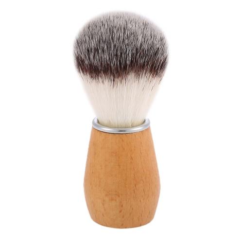 Buy Nylon Shaving Brush Wood Handle Barber Salon Tool Men Razor Male Facial Cleaning