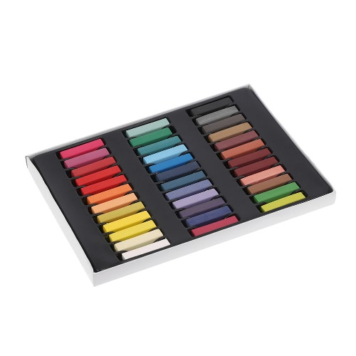 12 Color Hair Dye Pastels Temporary Hair Coloring Chalk Kit DIY Painting Chalk Set Multifunctional Square Chalks