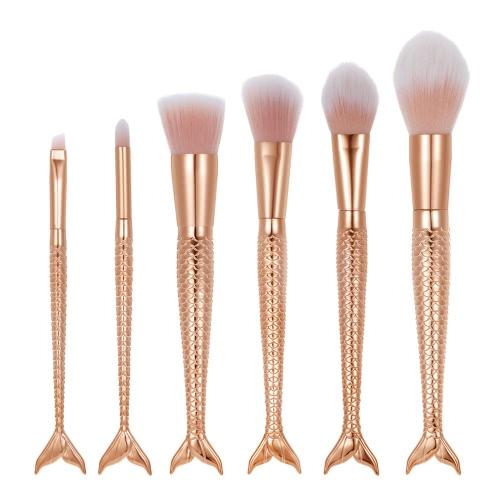 Buy Makeup Brush Set Cosmetic Eyeshadow Nylon Powder Foundation Kit Blush Colorized