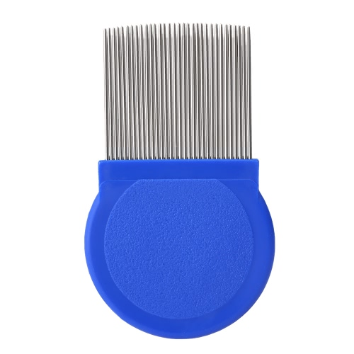 Stainless Steel Lice Remove Comb Long Needle Fine Toothed Comb Kids Pet Dog Cat Louse Flea Removal Comb