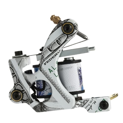New Pro Tattoo Machine Shader Liner 10 Wrap Coils Tattoo Instrument Tattoo Accessories от Tomtop.com INT
