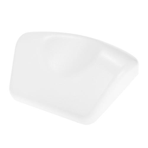 Soft Bath Pillow Non-slip Bathtub Pillows Headrest 3 Suction Cups Waterproof SPA Bathroom Supplies White