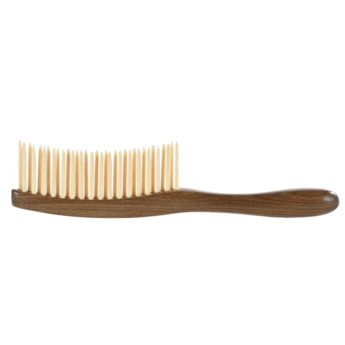 Natural Sandalwood Wood Hair Comb Wooden Texture Massage Comb Hairbrush Anti-static Hair Comb