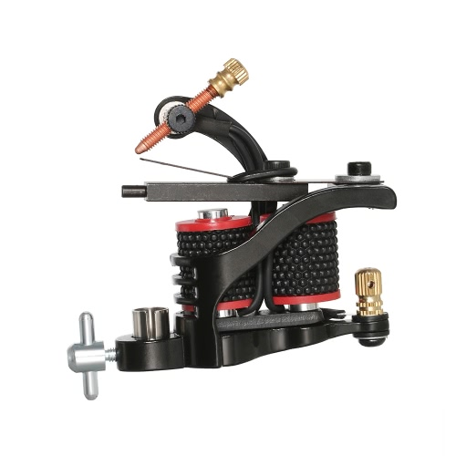 1pc Tattoo Machine Gun Professional Tattoo Motor Shader Tattoo Liner Body Permanent Art Tool Black от Tomtop.com INT