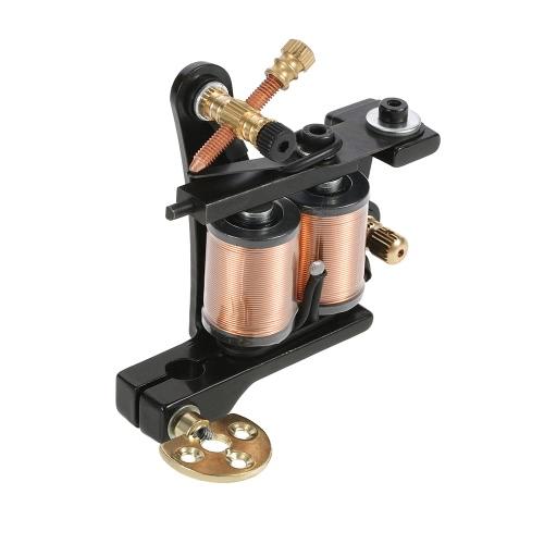 1pc Tattoo Machine Professional Tattoo Motor Shader & Liner Zinc Alloy Body Tattoo Machine Gun Black от Tomtop.com INT