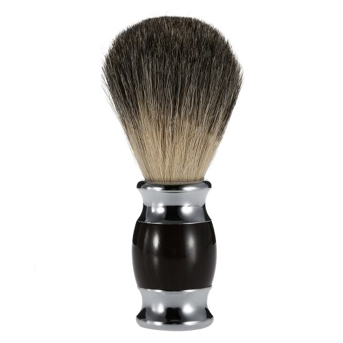 Professional Pure Badger Shaving Razor Brush Wooden Handle Hair Shaving Brush Barber Salon Men Facial Beard Cleaning Appliance Shave Tool