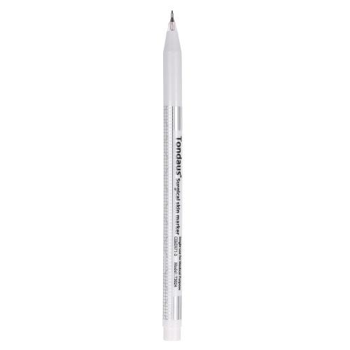 Buy Tattoo Skin Marker Pen + Eyebrow Measure Paper Ruler Permanent Makeup Tool