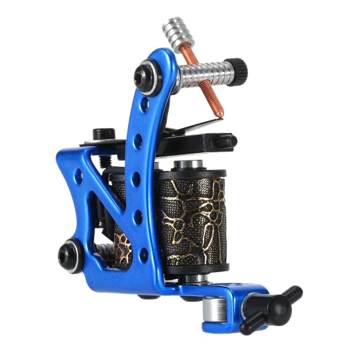 Tattoo Machine Professional Tattoo Motor Tattooing Shader & Liner Machine Gun Body Tattoo Machine Black от Tomtop.com INT