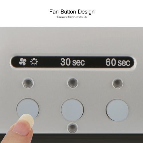 Anself 48W LED + CCFL Nail Lamp Nail Gel Dryer Nail Curing Machine Fingernail & Toenail Gel Curing 110-240V Nail Art Painting Salon Tool Gray US Plug от Tomtop.com INT