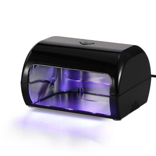 Buy 9W LED Nail Lamp Fingernail Toenail Gel Curing Dryer Professional Machine Salon EU Plug Beige