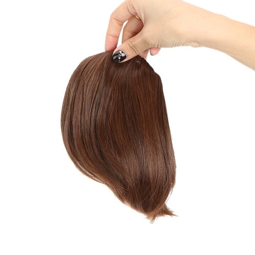 Fashion Girls Women Oblique Bang Fringe Hair Extension Inclined Hairpiece от Tomtop.com INT