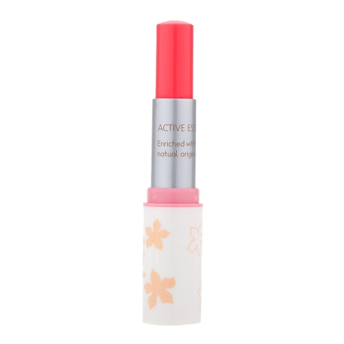 Buy Fashion Makeup Lipstick Long-lasting Color Optional Classic White Rounded Tube