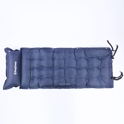 Kingcamp BASECAMP Moisture pad Outdoor Camping with Pillow XL /Navy Blue/Watermelon Red от Tomtop.com INT