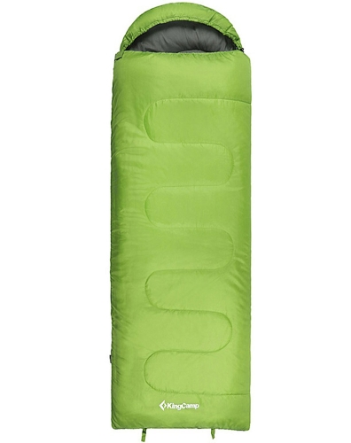 OASIS 250 Lightweight Single Layer Sleeping Bag Green