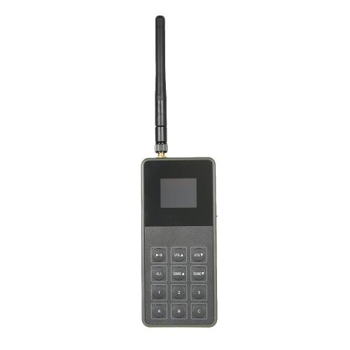 Outdoor Hunting Decoy Bird Caller Mp3 Player Bird Sound 3 Loudspeakers Amplifier Predator Wildlife Decoy Remote Control