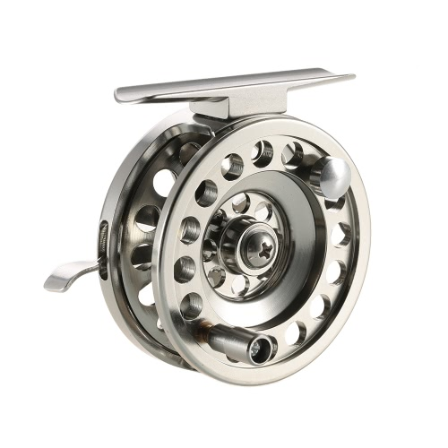 Buy Fly Fishing Reel Right Handed Aluminum Alloy Smooth Rock Ice Reels Accessories