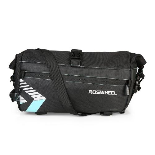 Buy ROSWHEEL Bicycle Carrier Bag Rack Trunk Height Adjustable Bike Luggage Pannier Cycling Storage Handbag Shoulder Strip