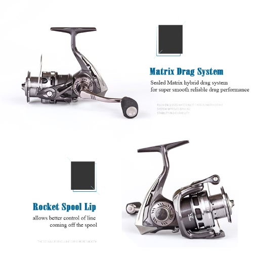 Abu Garcia Brand REVO LT 2000SH 2500SH Spinning Fishing Reel 9+1BB 6.2:1 Saltwater Long Shot Fishing Reel