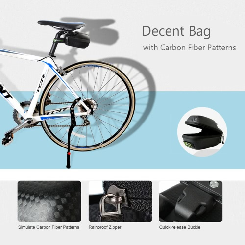ROCKBROS Outdoor Rainproof Road Bike Saddle Bag MTB Bicycle Seat Post Bag Tail Rear Tail Pouch Bag