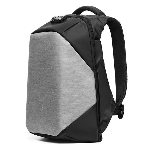 Kingsons Waterproof Anti Theft Business Backpack with Accessories--Dark grey