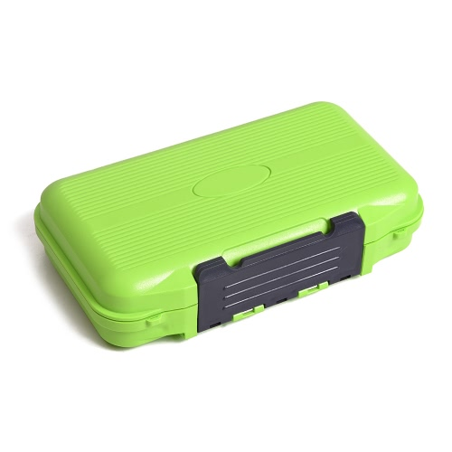 Fishing Lure Tackle Box Double Sided Portable Fishing Bait Lure Hook Accessory Storage Case Container Box 24 Compartments