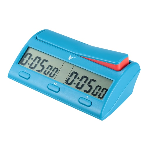 Buy Professional Digital Chess Clock Count Timer Electronic Board Game Bonus Competition Master Tournament