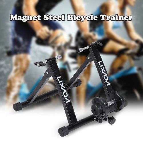 Buy Lixada Magnet Steel Bike Bicycle Indoor Exercise Trainer Stand Solid Frame Magnetic Resistance