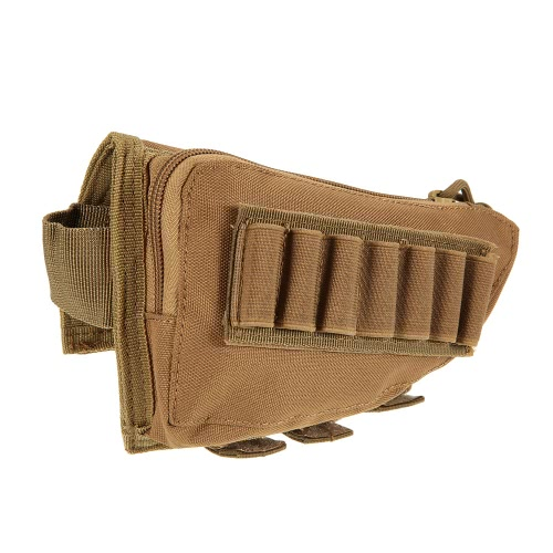 Buy Buttstock Pouch Tactical Hunting Accessory Holder Carrier Military Gear Utility Tool Kit Cheek Pad Design