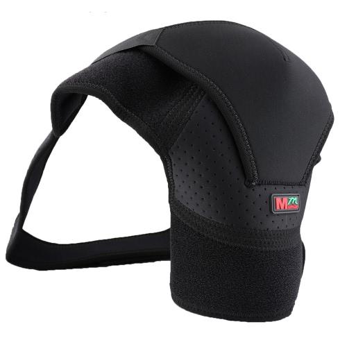Buy Single Left/Right Shoulder Sports Pain Relief Support Brace Adjustable Wrap Belt Band Gym Pads Gentle Compression