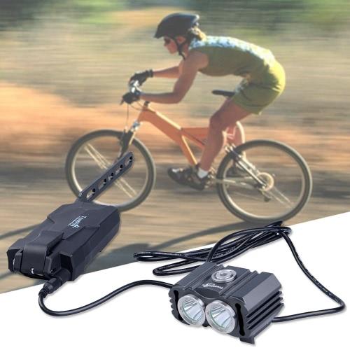 Buy Battery Pack Kits Sets Special Bicycle Bike Light LED Lights Charger Holder 3 Modes 800 LM Rechargeable