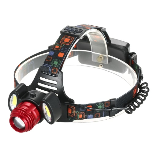 Buy Ultra-bright LED Headlight 250 Lumen 4 Modes Headlamp Rotatable Head Lamp Flashlight Hiking Camping Riding Hunting Walking Running Reading