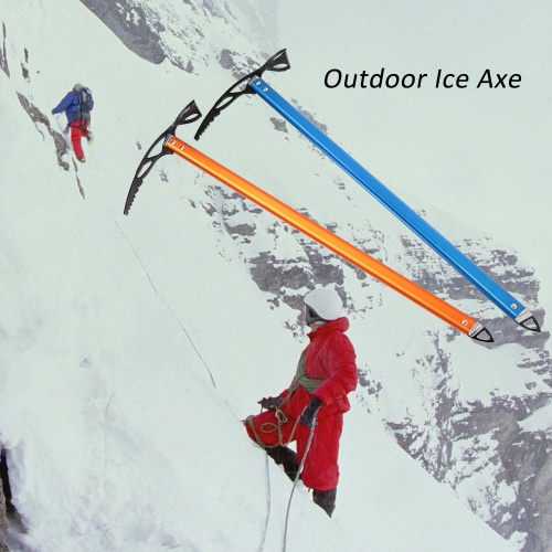 Ice Axe Lightweight Anodized Aluminum Design Self Arrest for Hiking Glacier Snowy Snowbank от Tomtop.com INT