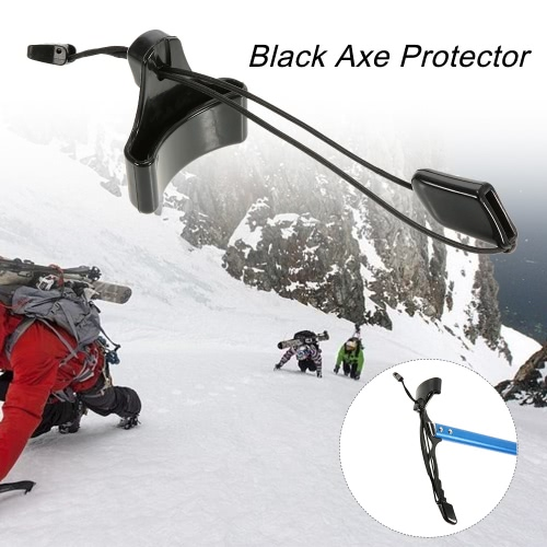 Black Axe Protector Spike Pick Protector Ice Axe Head Cover Accessory от Tomtop.com INT
