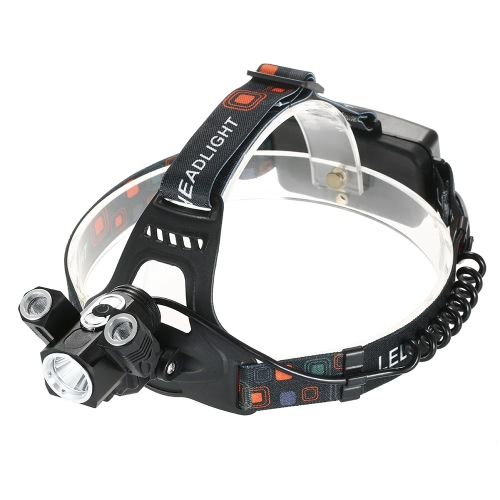 Buy Ultra-bright LED Headlight 300 Lumen 4 Modes Headlamp Rotatable Head Lamp Flashlight Hiking Camping Riding Hunting Walking Running Reading