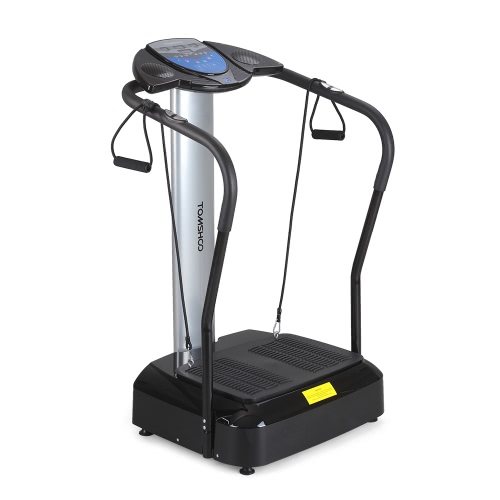 TOMSHOO 2000W Vibration Platform Slim Full Body Fitness Massage Machine Plate with MP3 Music Speaker